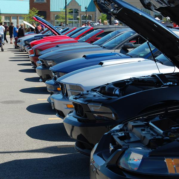 2014- Mustang Event