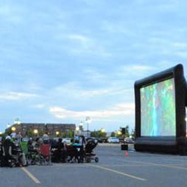 2014- Outdoor movies