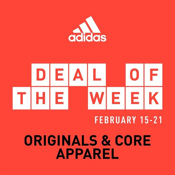 Deal of the Week - Originals & Core Apparel