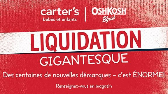 Liquidation gigantesque