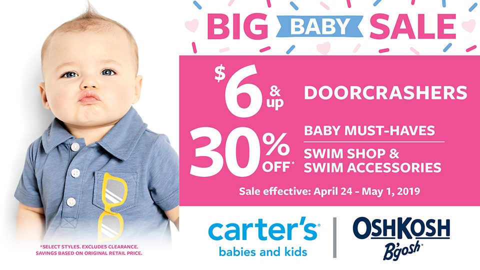 Big Baby Sale