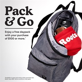 Pack & Go with Roots