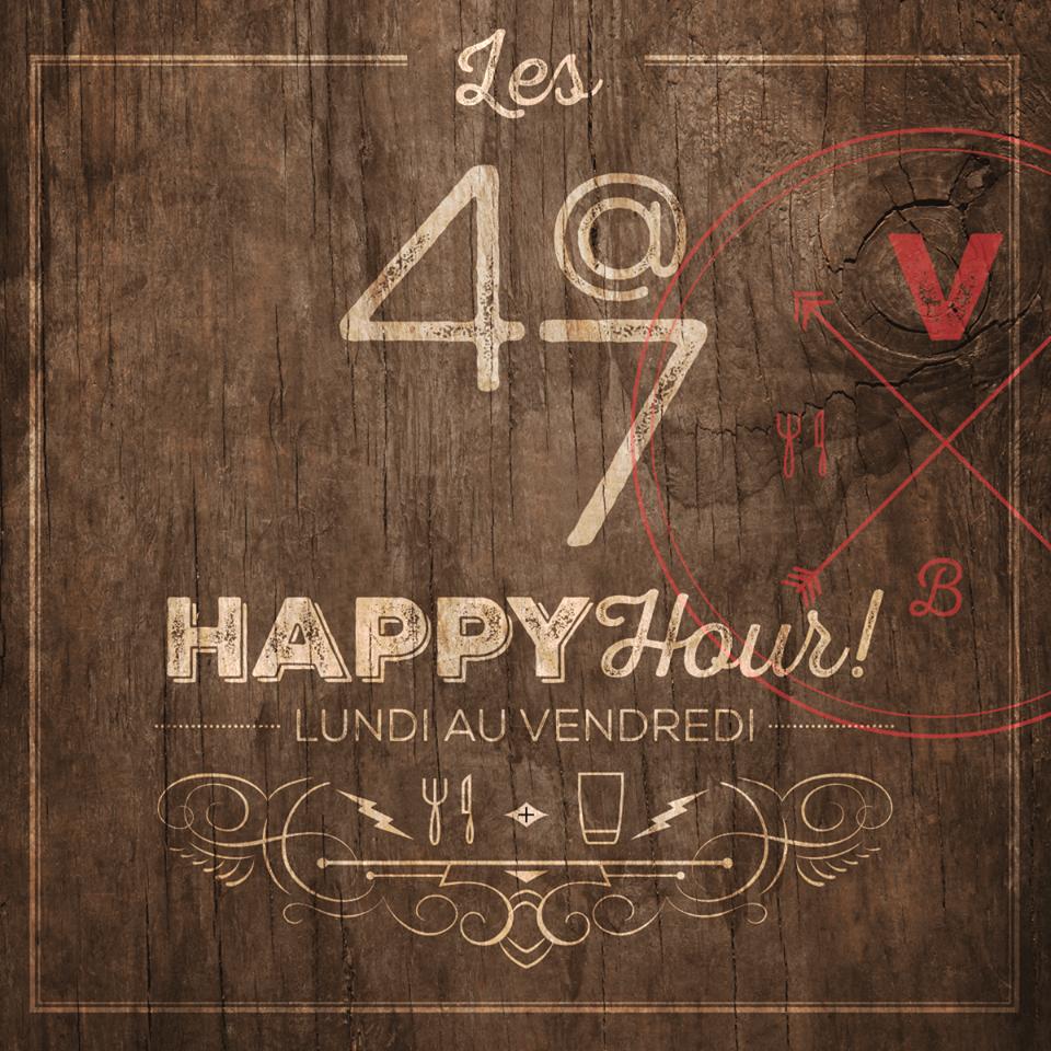 Les 4 à 7 Happy Hour au Vertigo Boisbriand